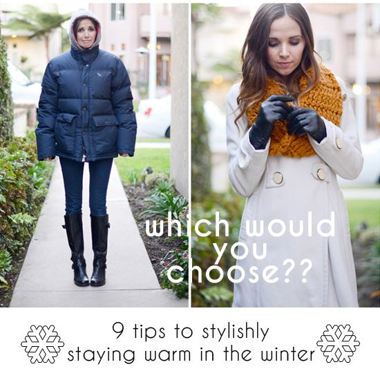 9 Tips to Stylishly Surviving the Winter