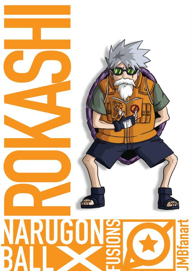 Rokashi Master Roshi And Kakashi Fusion By Jmbfanart Anime Dragon Ball Super Dragon Ball Wallpapers Anime Dragon Ball