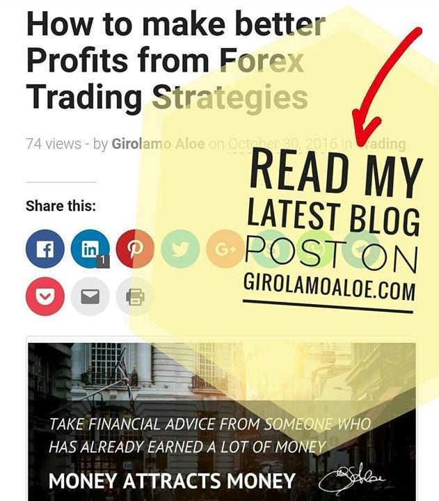 http://girolamoaloe.com How to make better #Profits from #Forex #Trading #Strategies  Read the Blog Post LINK UP  I am a Trader of #ProfitingMe  #SupplyAndDemand #Trading  #ForexMentor #Trading #Futures #Indexes #Forex #Stocks #Commodities #Pips #PriceAction #WallStreet #Stockstrader #Forextrader #ForexTrading #ForexLifestyle #ForeignExchange #TraderLifestyle #StockMarket #ForexMarket #ForexLife #ForexSignals #TechnicalAnalysis #CurrencyTrader #CurrencyAnalyst #SwingTrading #SwingTrader…