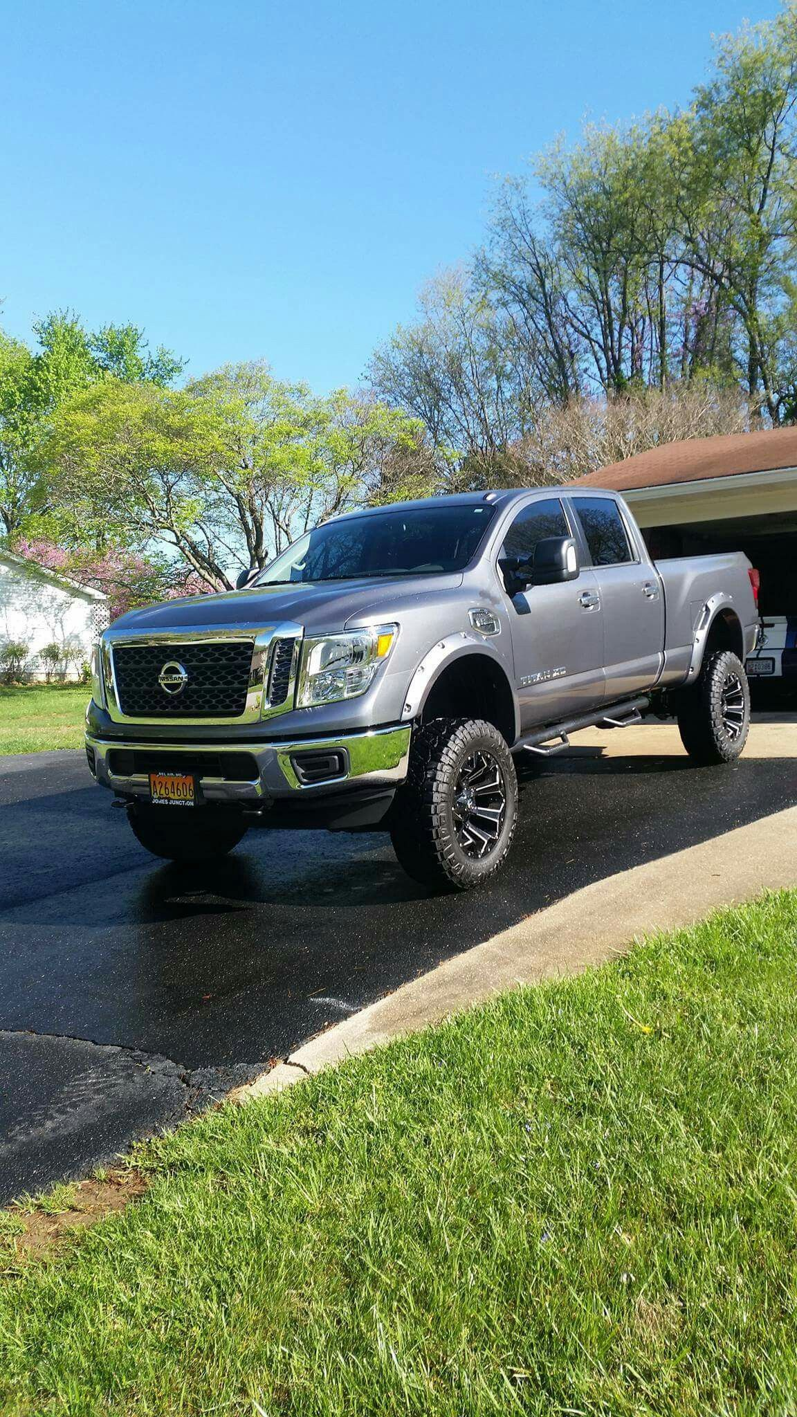 2016 nissan titan xd lifted lifted trucks that i would like to have pinterest 2016 nissan. Black Bedroom Furniture Sets. Home Design Ideas