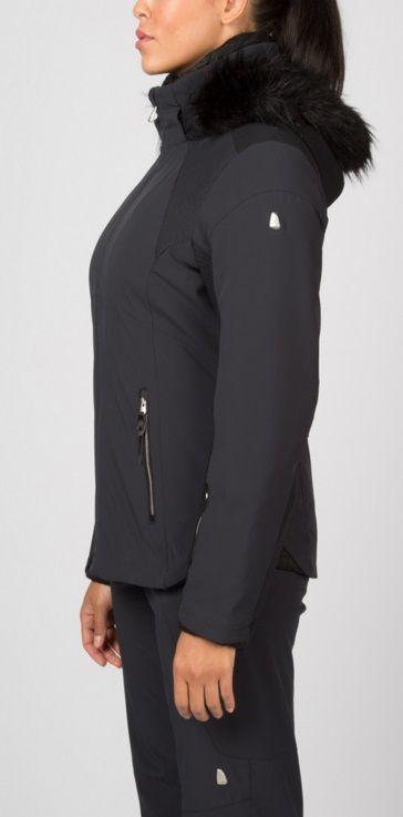 5630d13277 Spyder Women s Posh Ski Jacket with real fur