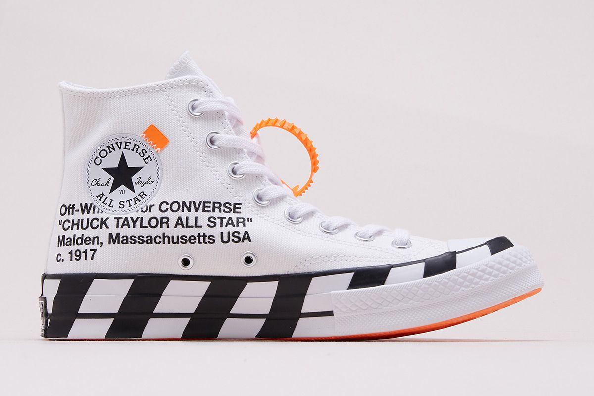 Off White X Converse Chuck 70 How Where To Buy Today Off White Converse White Nikes Off White Shoes