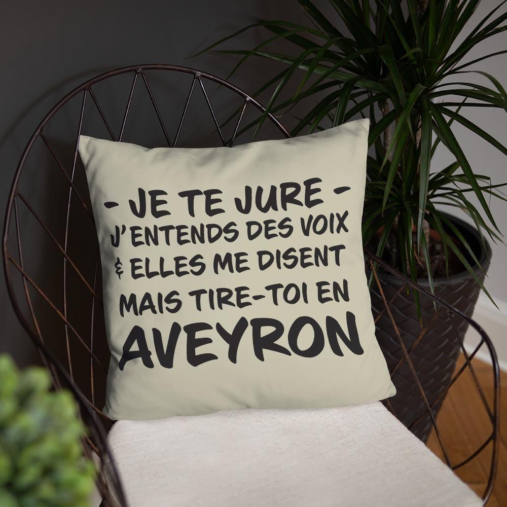 Aveyron J Entends Des Voix Coussin Decoratif Default Title In 2020 Throw Pillows Pillows