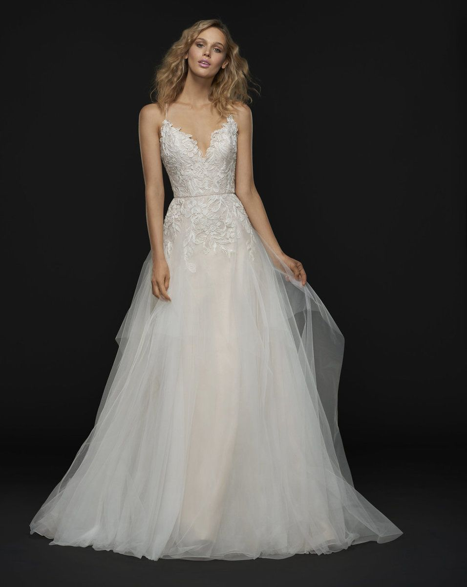 Blush by hayley paige wedding dress giamba uc love for the future