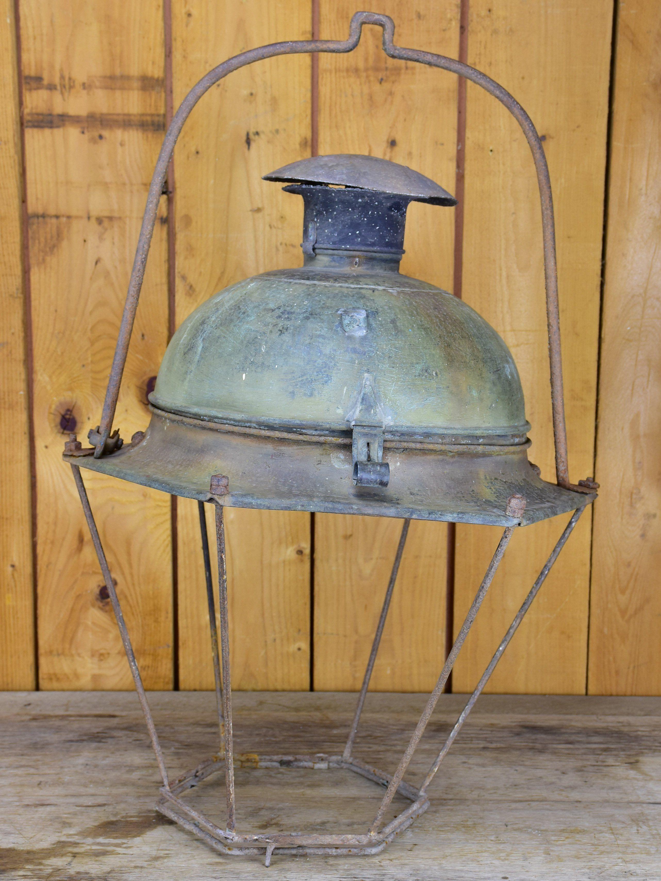 Very Large 19th Century French Street Lantern