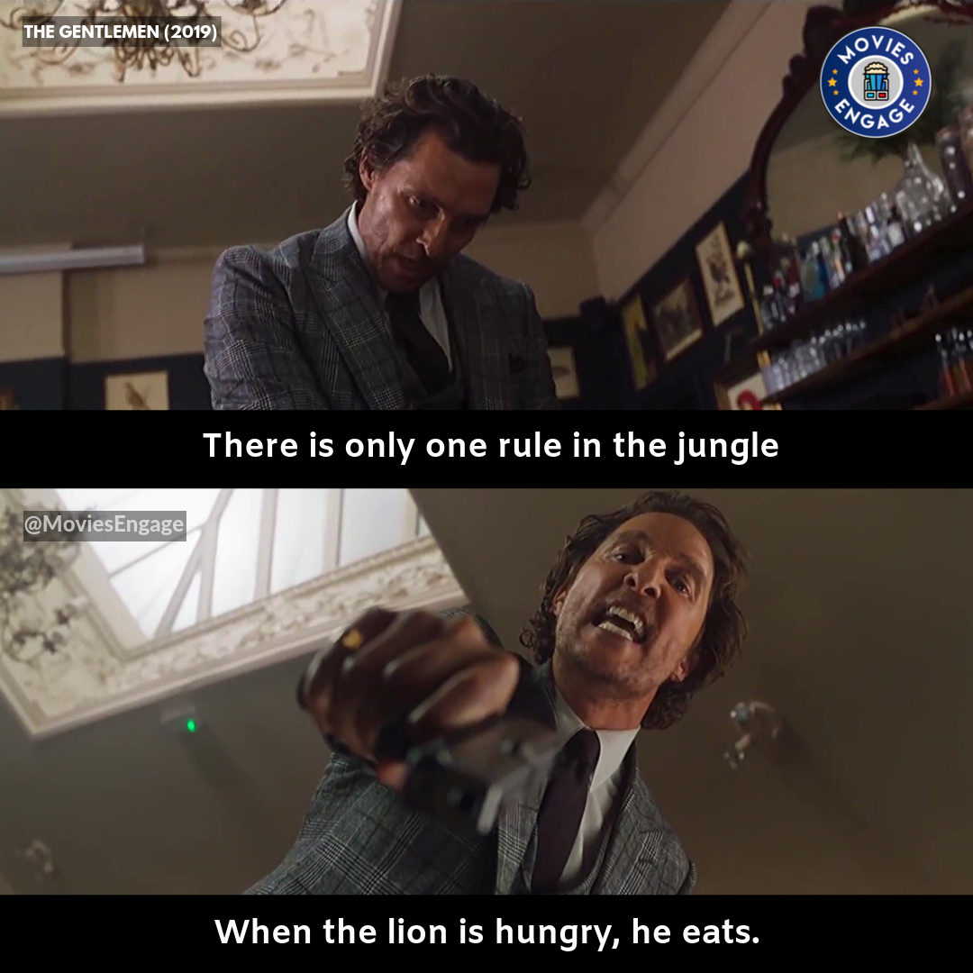 When The Lon Is Hungry He Eats Movie Quotes Movie Buff Daily Motivational Quotes