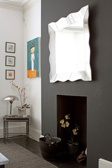 Grey Paints For Walls concrete grey - wall paint - wall & feature wall paint colour