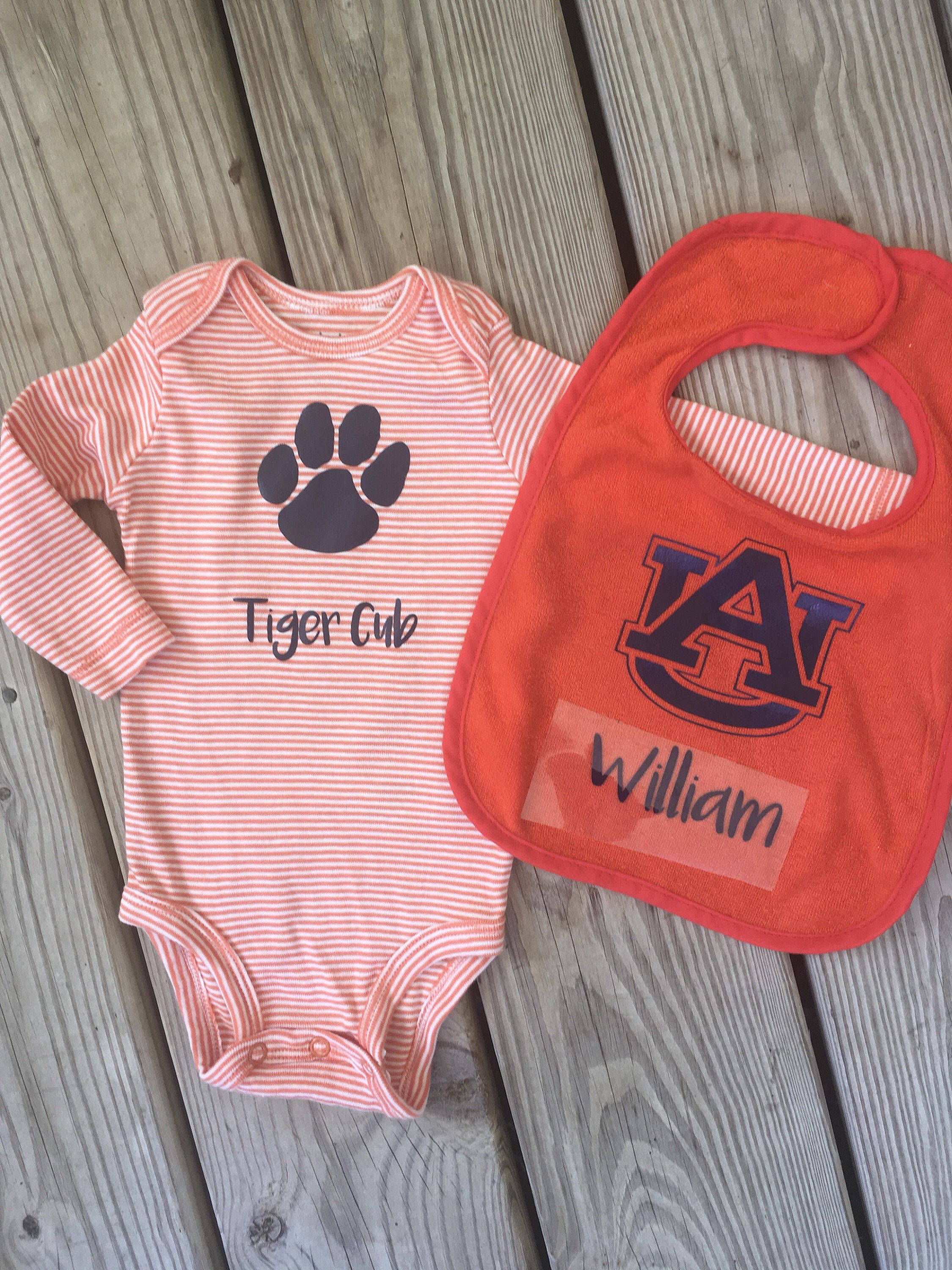 Baby Shop Auburn Excited To Share This Item From My Etsy Shop Auburn Tiger Baby