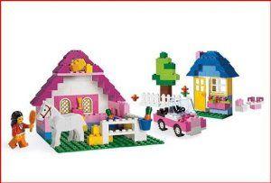 Lego Pink Brick Box Large Style# 5560 by LEGO. $48.24