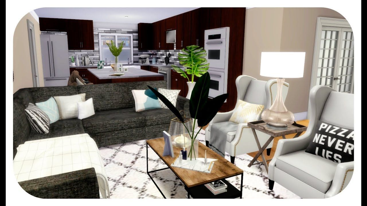 The Sims 4 House Build Aesthetic Family Mansion Download Sims 4 House Building Sims 4 Houses Sims 4 Cc Furniture Living Rooms