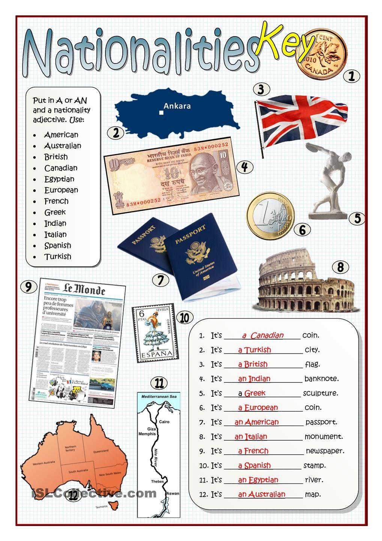nationalities pinterest worksheets printable worksheets and teacher. Black Bedroom Furniture Sets. Home Design Ideas