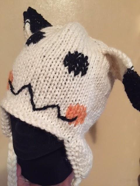 Pokemon Go - Mimikyu Hat. (Free knitting pattern) | Sewing | Pinterest