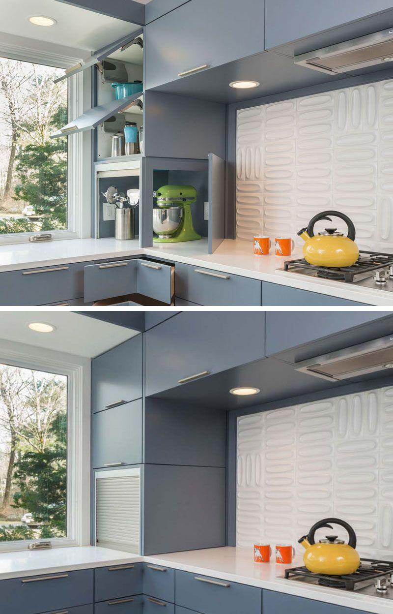 Kitchen Design Idea - Store Your Kitchen Appliances In An Appliance ...