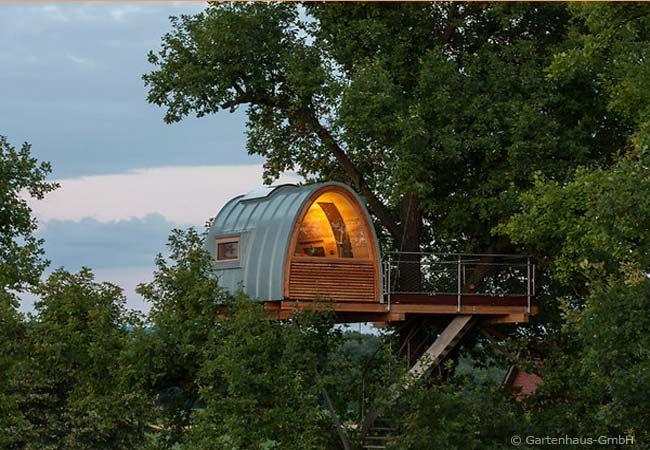 Eine Alternative Zum Gartenhaus Ist Ein Luxuriöses Baumhaus! Images