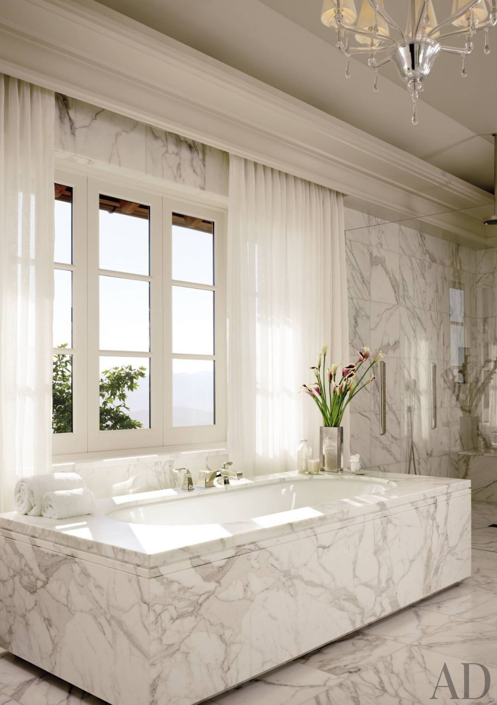 Contemporary bathroom by the wiseman group and bar architects in