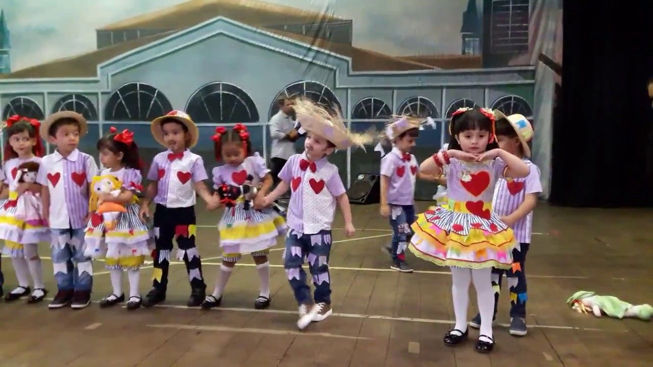 Festa Junina Jardim 1 Cese 2017 Musicas Festa Infantil Danca