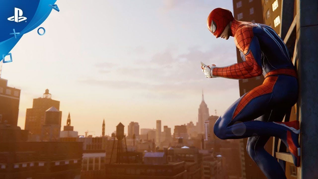 Marvel's SpiderMan E3 2018 Show Floor Demo PS4 Man