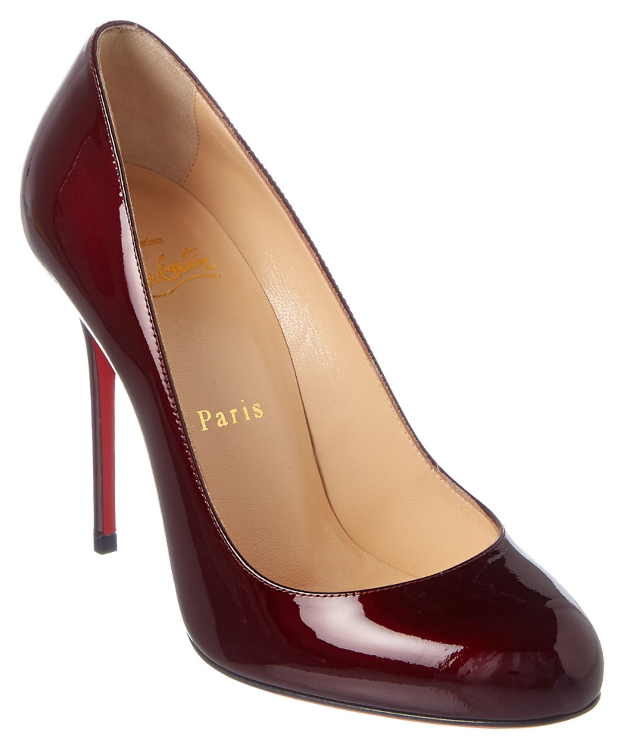 ef40e36d34a ... spain christian louboutin christian louboutin fifi patent pump shoes  pumps high heels 75402 995a2