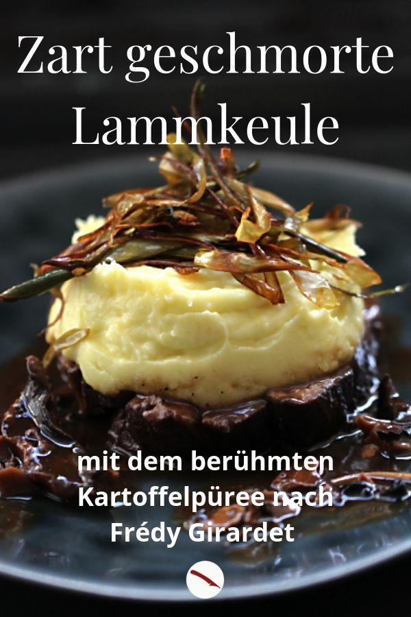 Photo of Frédy Girardet mashed potatoes, leg of lamb, porcini mushroom …