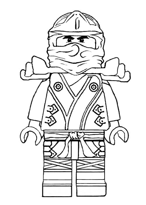 coloriage ninjago coloriage de le