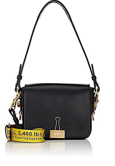 8892f8bda125 Off-White c o Virgil Abloh Binder-Clip Shoulder Bag - Shoulder - 505020165