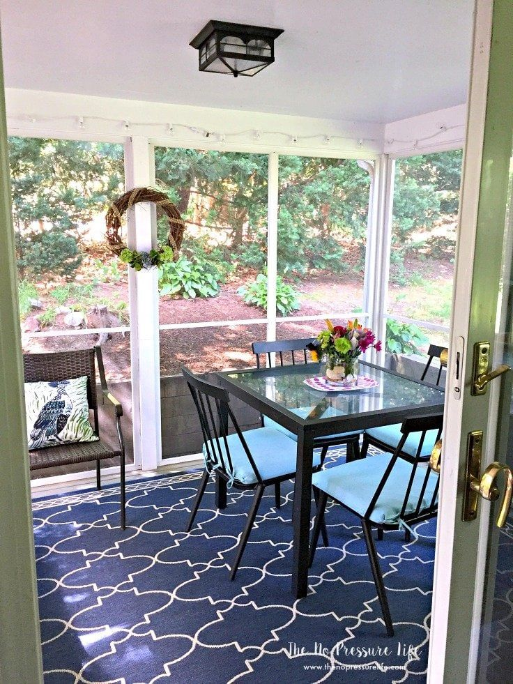 7 Easy + Budget-Friendly Small Porch Decorating Tips