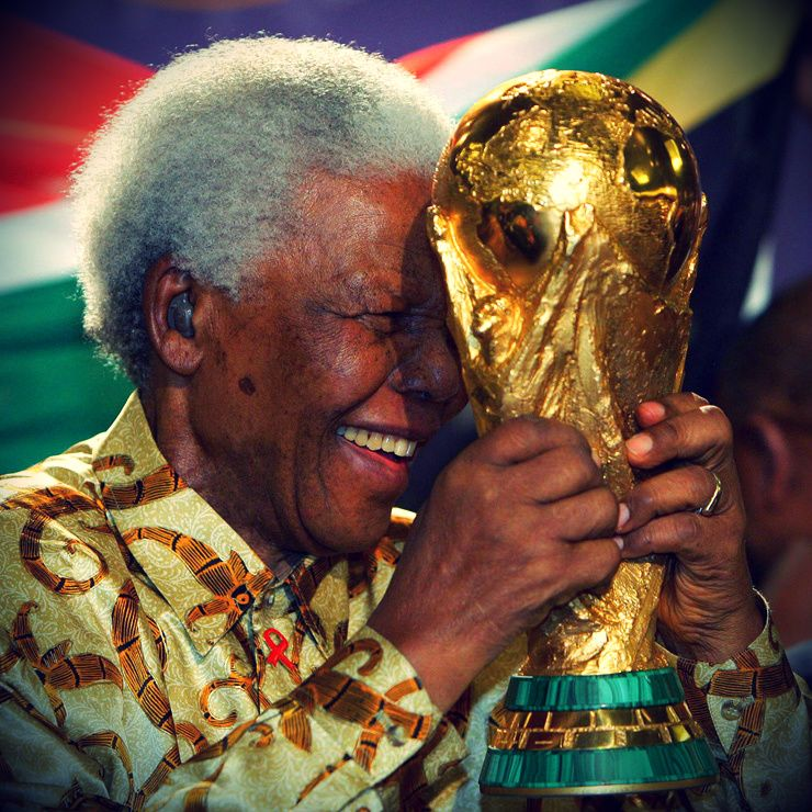 """""""The greatest glory in living lies not in never falling, but in rising every time we fall"""" - Nelson Mandela. RIP."""