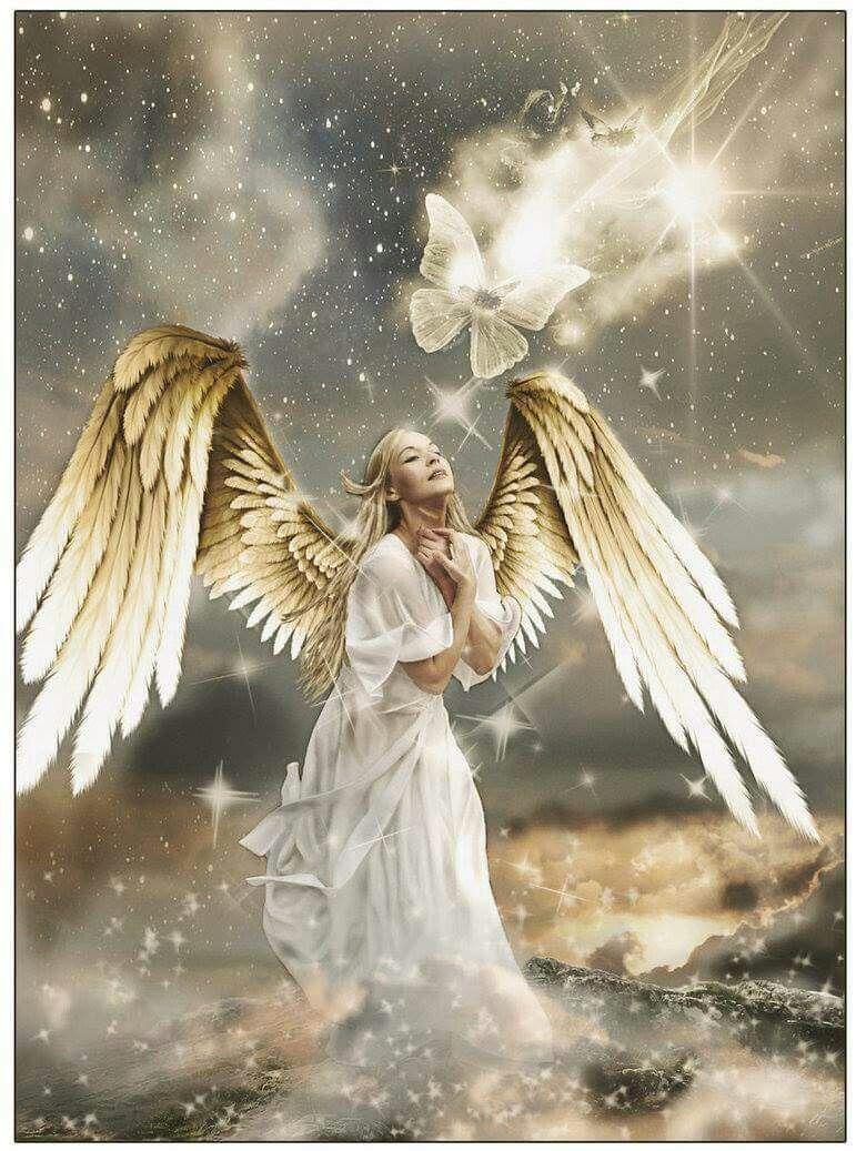 Картинки с крыльями с ангелами