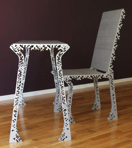 extruded aluminium table leg Hledat Googlem Furniture design