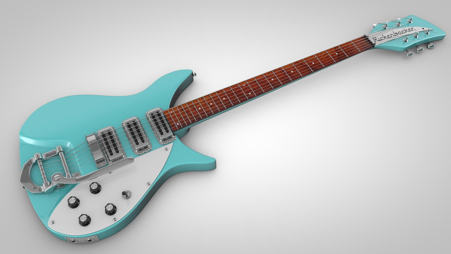 Vintage Electric Guitar 3d Model Ad Electric Vintage Model Guitar Vintage Electric Guitars Electric Guitar Guitar