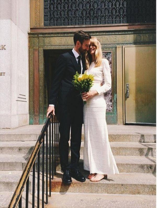 Picture Of Julia Stegner Celebrity Wedding Dresses Wedding Nyc Wedding