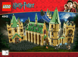 prijs officiële site specifiek aanbod Hogwarts Castle 4842 - LEGO Harry Potter TM - Building ...