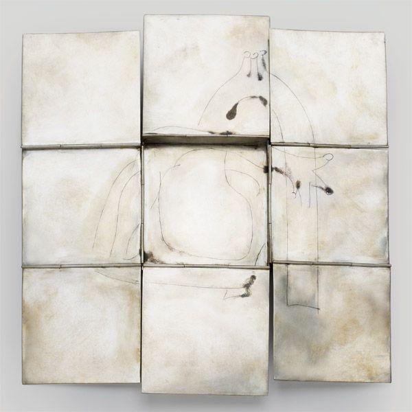 By Christine Matthias, 2002. Silver, niello.