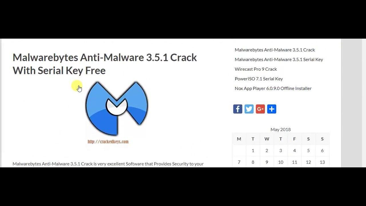 Malwarebytes Anti Malware 351 Serial Key Free Crack Here Dvd