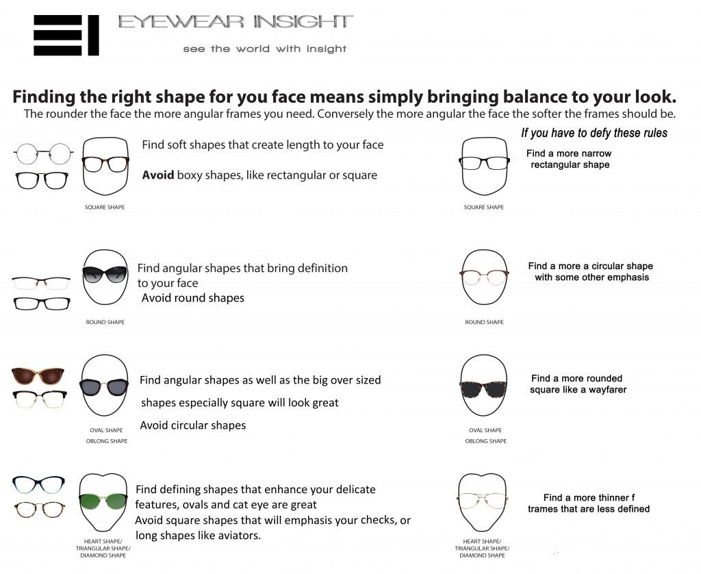 The Best Eyeglasses For Your Face Shape  Tips For Buying Glasses