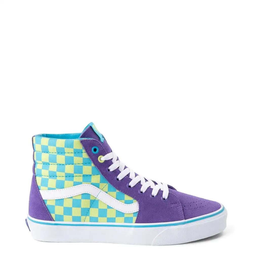 Vans Sk8 Hi Chex Skate Shoe | Journeys