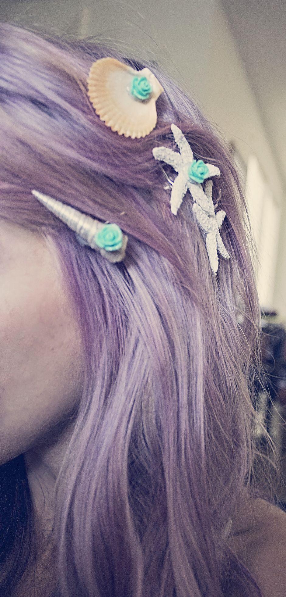 Hair clips mermaid seashells diy crafts do it yourself diy hair clips mermaid seashells diy crafts do it yourself solutioingenieria Gallery