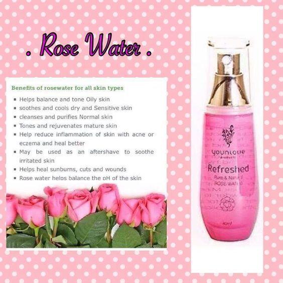 Rose Water Spray Benefits Of