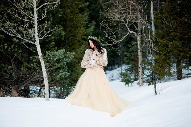 лучшие наряды для зимней фотосессии был