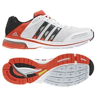 dc523f33c Amazon.com  Adidas - Snova Glide 4M Mens Shoes In Running White Metalic  Silver Highenerg  Shoes