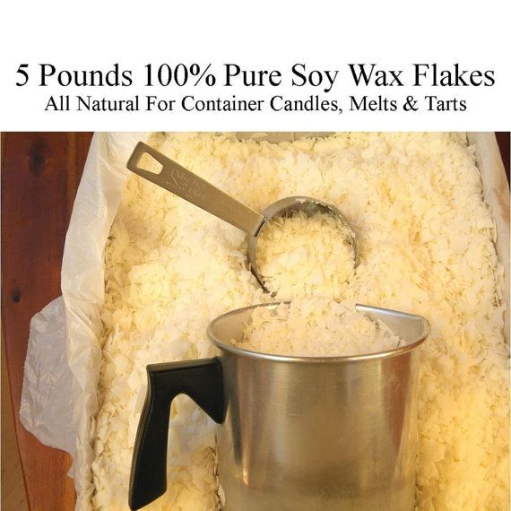 Candle Wax, Soy Wax Flakes, Pure Soy Wax, All Natural Soy