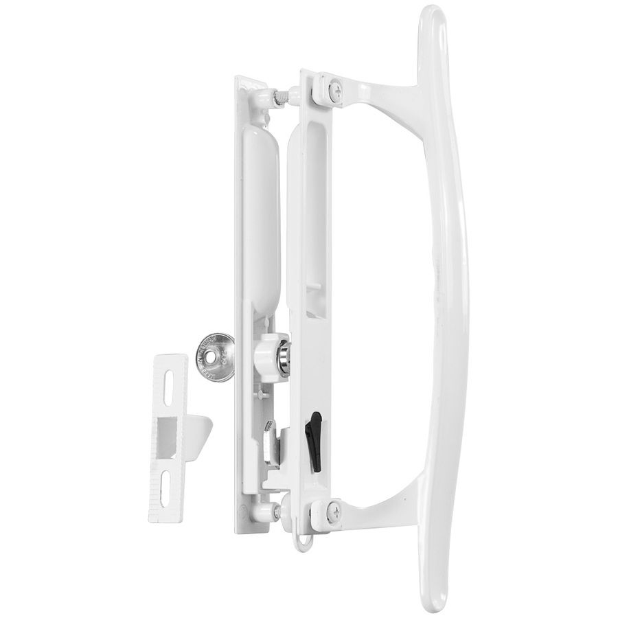 WRIGHT PRODUCTS 6.64 In Flush Mount Sliding Patio Door Handle