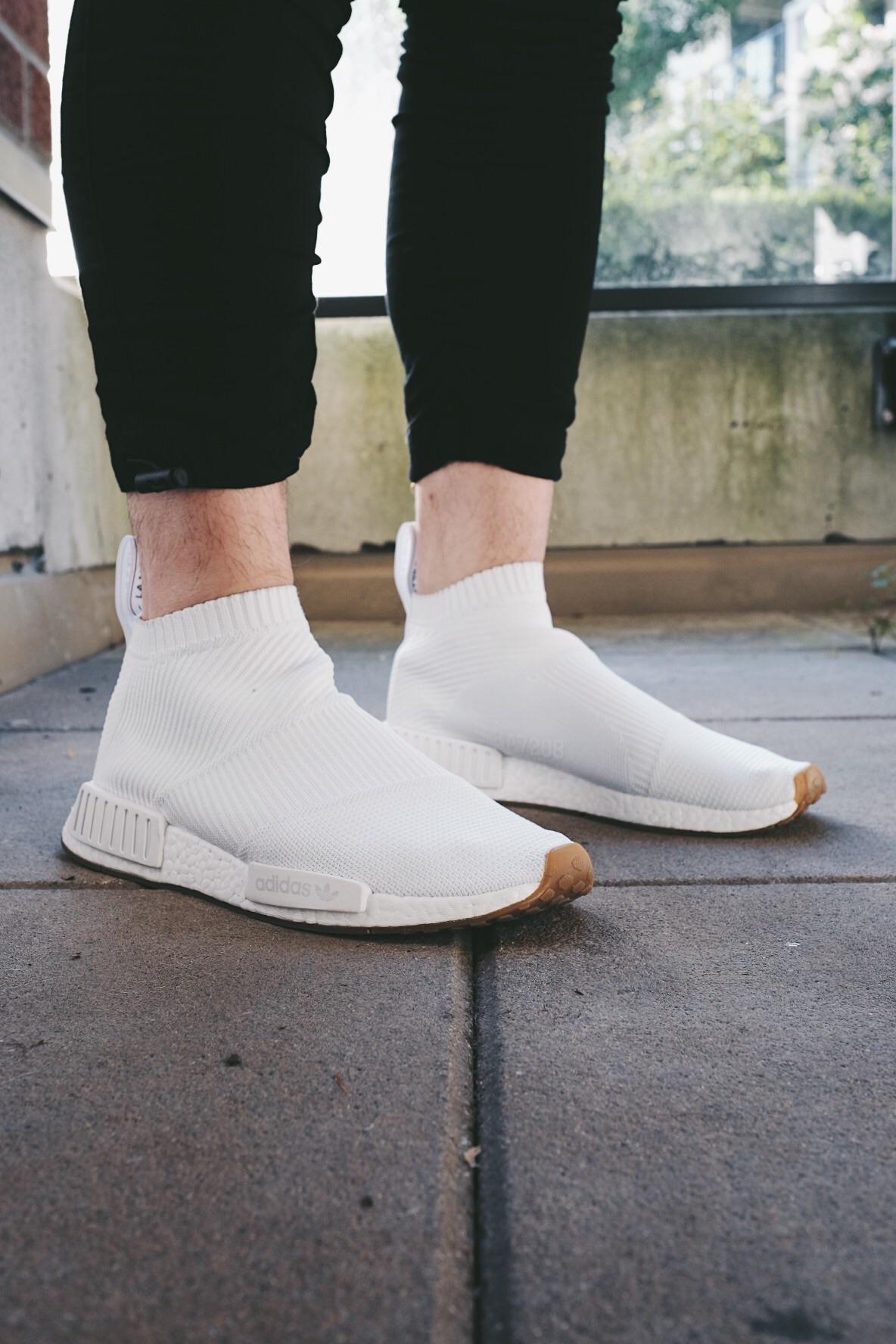 Wdywt] adidas nmd cs1 bianco gum