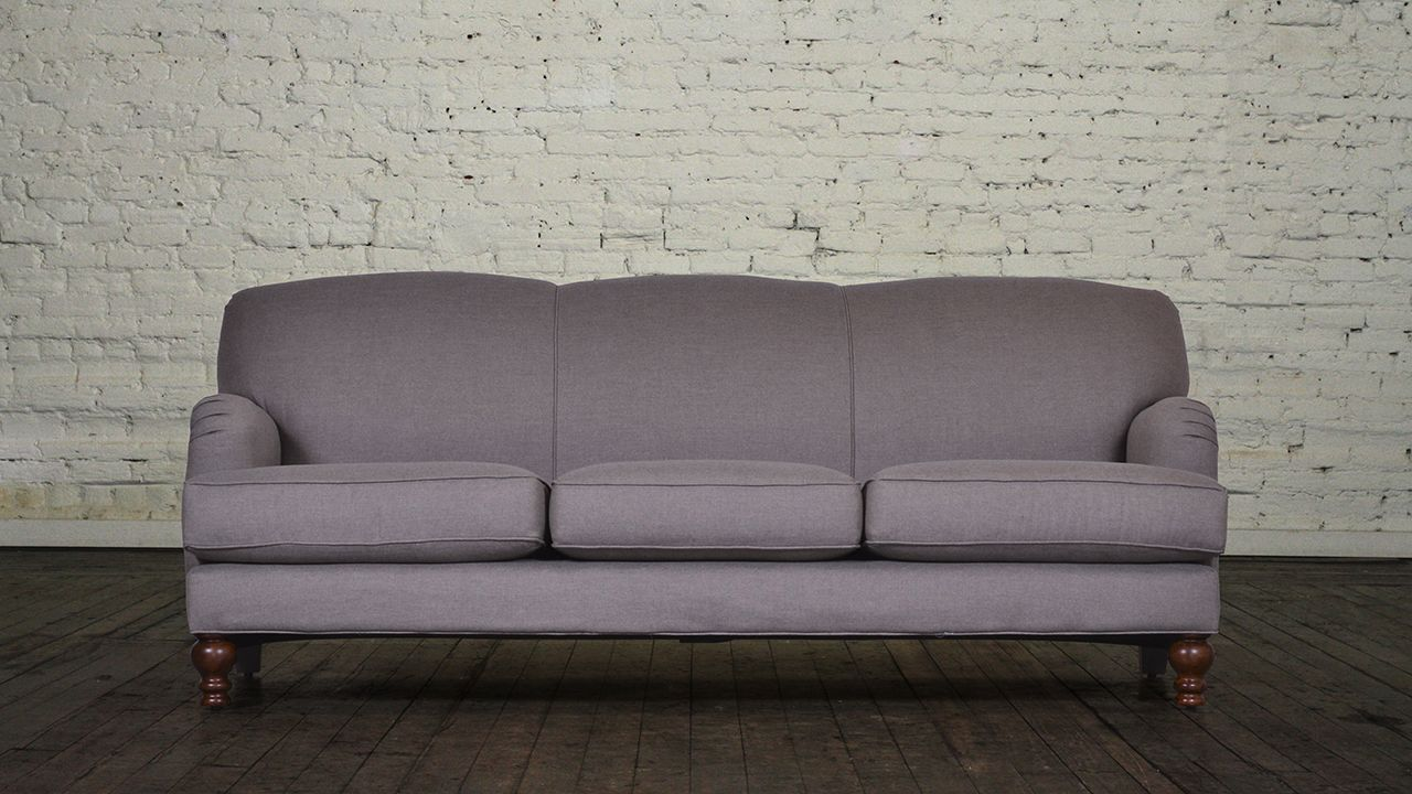 English Arm Back Fabric Sofa Custom Chesterfield And Furniture Maker Cococo Home