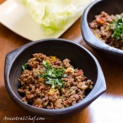 Mexican Tacos with Lettuce Tacos  http://ancestralchef.com/paleo-mexican-tacos/  #paleo #primal #gluten-free #gf #glutenfree #mexican #tacos #food #health #recipe #recipes #yummy #delicious