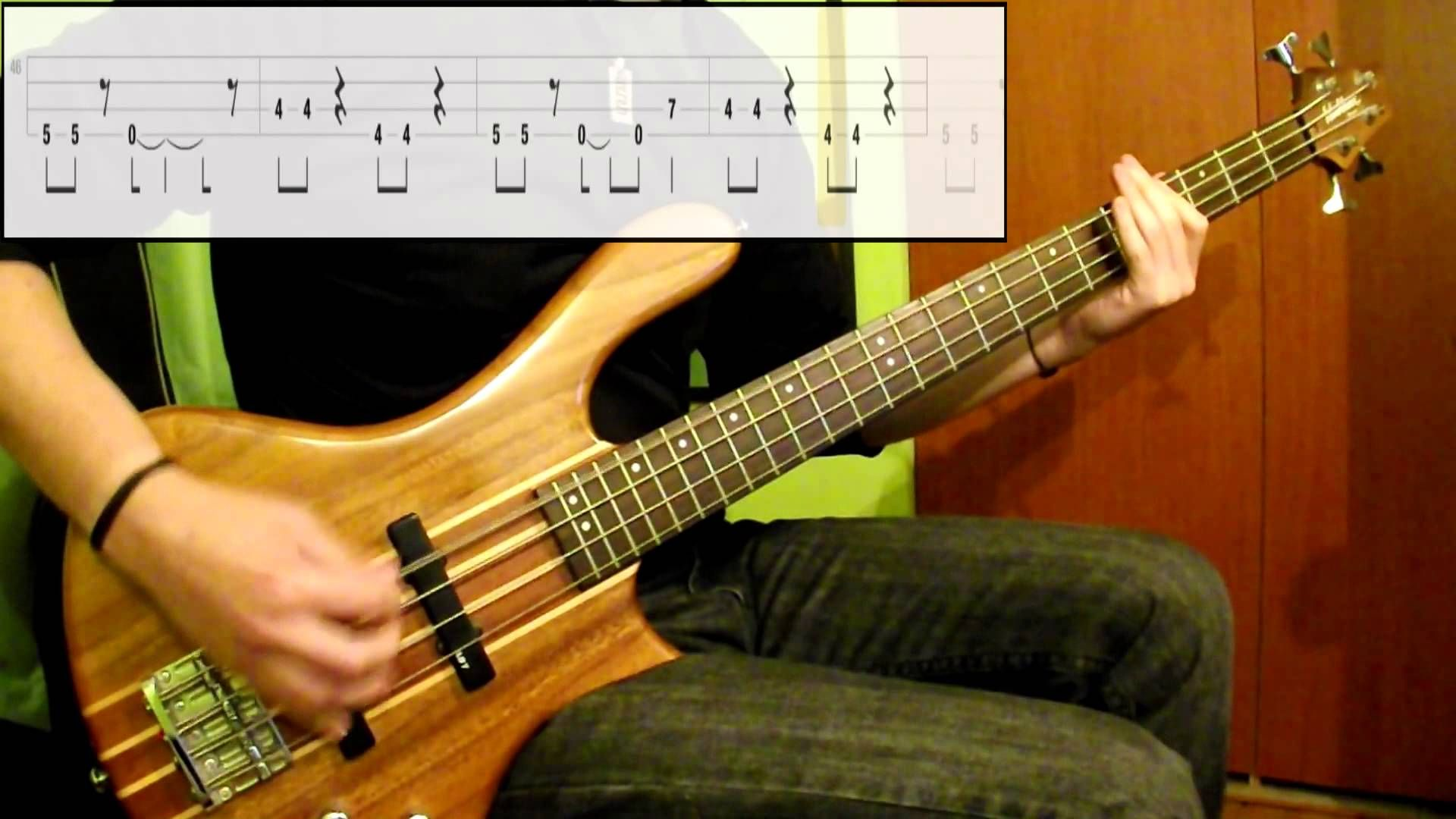 Weezer Say It Aint So Bass Tab By Coversolutions Bass Tabs Bass