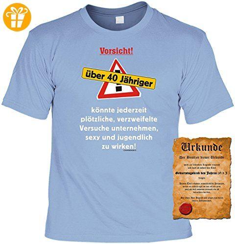 Geschenk Zum 40 Geburtstag Spruche Motiv Fun T Shirt Geschenkidee
