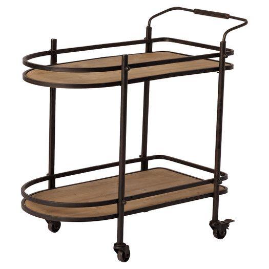 Three Posts Kennedy Serving Cart