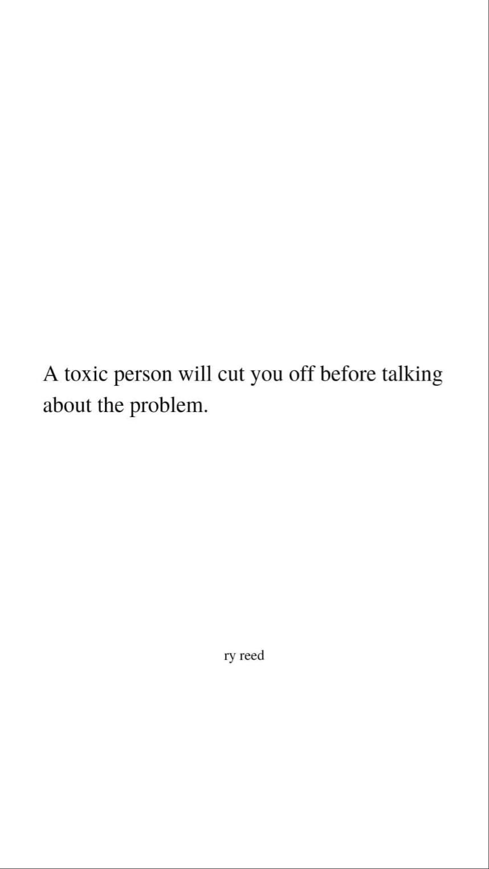 toxic people be like...