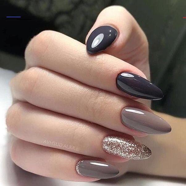 22 Herbstnagel-Designs zum Aufpeppen Ihres Looks Nail Art - Make-up für Haare und Augen ...   - Nails! - #Art #Aufpeppen #Augen #für #Haare #HerbstnägelDesigns #Ihres #Makeup #Nail #Nails #und #zum<br>
